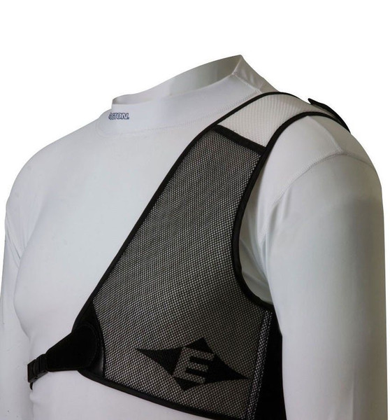 Easton Diamond Chest Guard LH White/Black X-Large