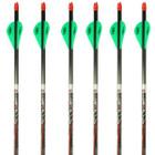 Easton Carbon Nemesis Arrows 2 Blazer Vanes Half Dozen Pack 400