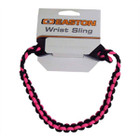 Easton Wrist Sling Diamond Paracord Wide Braid Pink