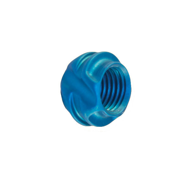 Speciality Archery Ultra Lite Peep Housing 37 Degree Blue