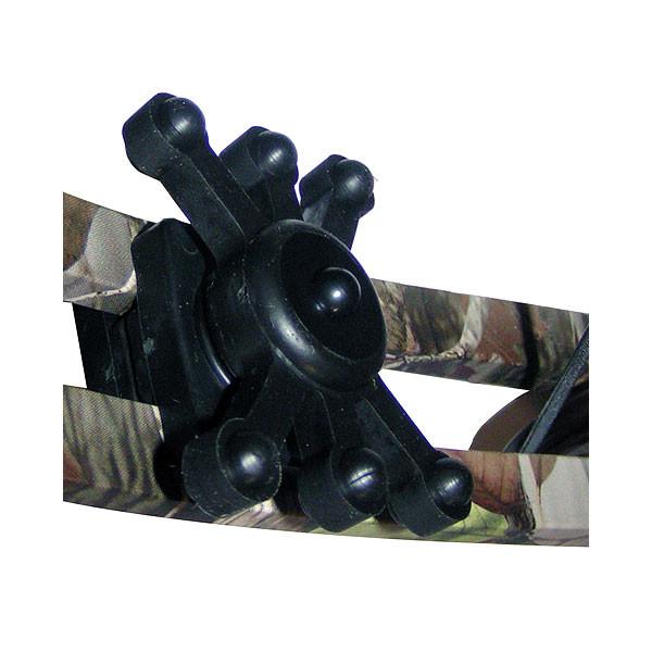 """Bowjax Magnum Split Limb 11/16"""" Limb Gap 2 pk Black"""