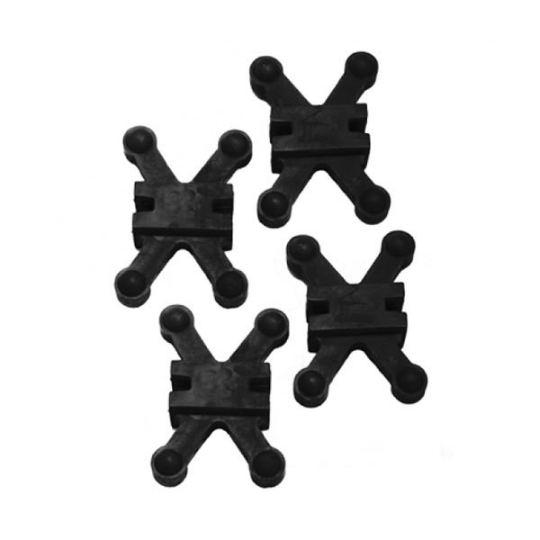 Bowjax Revelation Split Limb Dampener 4 pk Black