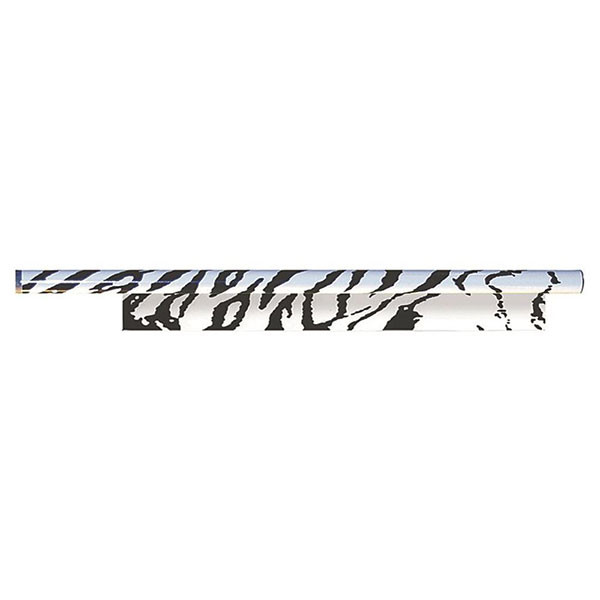 Bohning 7in. Tiger Arrow Wraps (12pk) White/Black