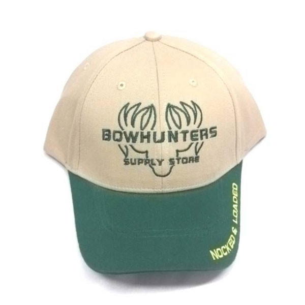 Bowhunters Supply Store Cap Green/Tan