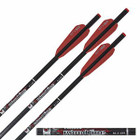 "Easton Bloodline Crossbow Bolts w/ 3"" Vanes Flat Back Nocks 6 Pack 22 inches"