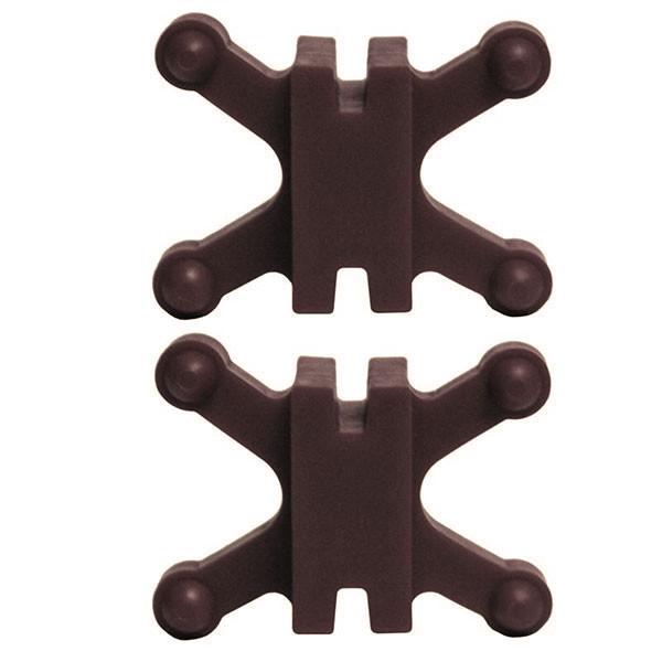 BowJax Revelation Split Limb Dampener fits 11/16in gap Brown