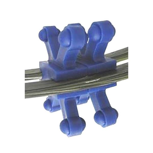 BowJax Revelation Split Limb Dampener fits 15/16in gap  blue