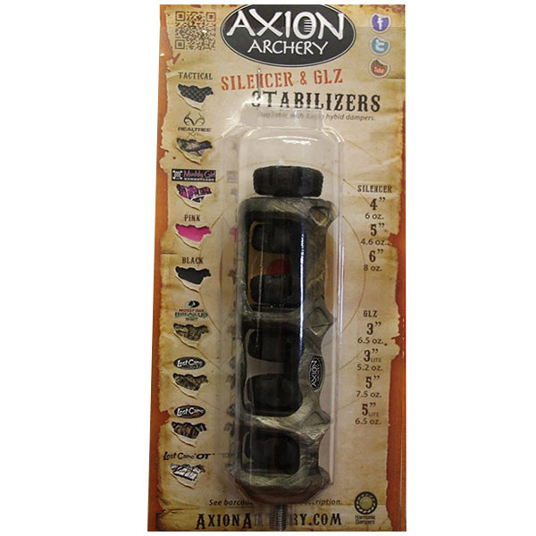 Axion Silencer Hybrid Stabilizer 4 in. Real Tree