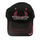 Bowhunters Supply Store Black/Pink Mesh Hat