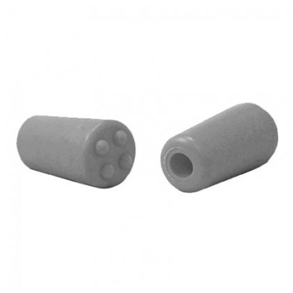 BowJax Silver 4-Dot Stopper for 3/8in rod