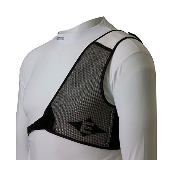 Easton Diamond Chest Guard RH White/Black X-Large