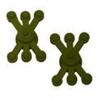 BowJax - MonsterJax - Dampener - Solid Limb - Olive Green - 2 Pack