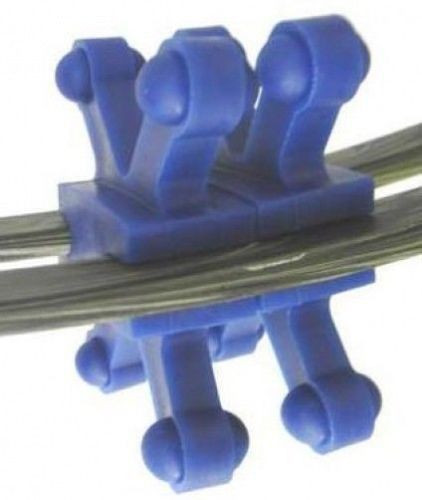 BowJax Revelation Split Limb Dampener fits 11/16in gap  Blue