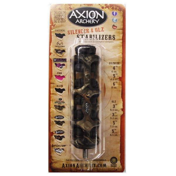 Axion Silencer Hybrid Stabilizer 5 in. Lost Camo