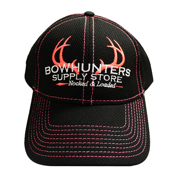 Bowhunters Supply Team Hat Pink