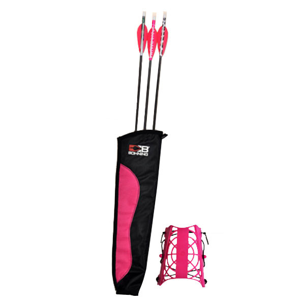 Bohning Evervale Archery Set Hot Pink / Animal Print