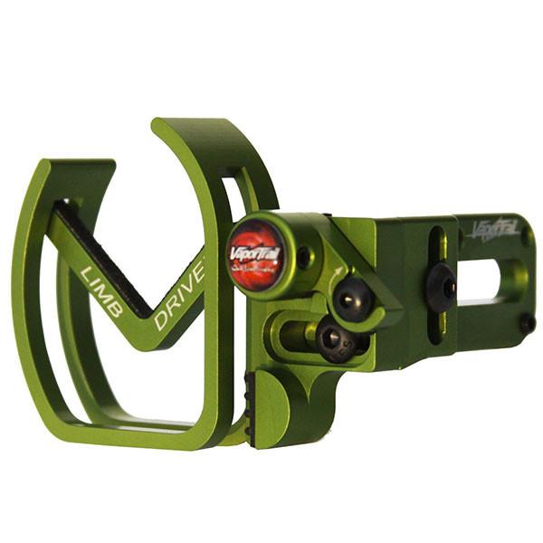 Vapor Trail LimbDriver Pro V Rest All Green RH