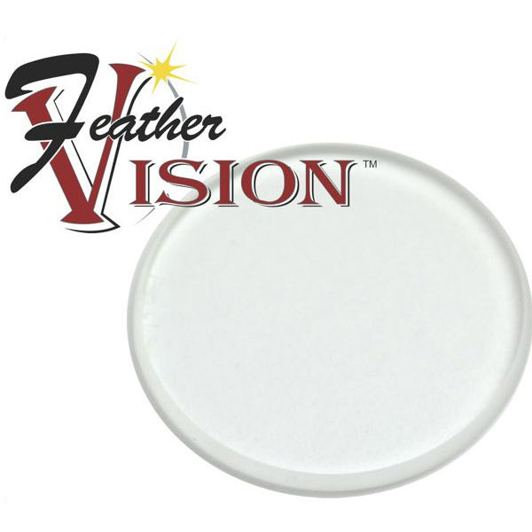 Feather Vision Verde Plus 2x 1 3/8 Lens - Clear