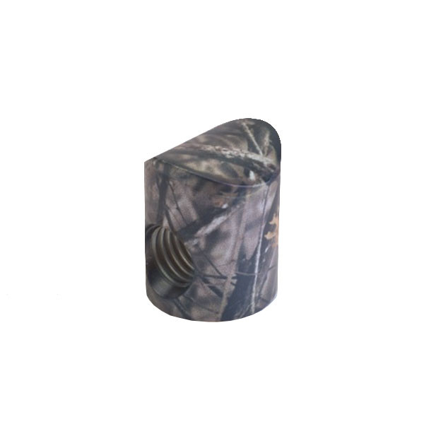 Shrewd V Bar Colored Barrel Nut - 8 Degree Lost Camo