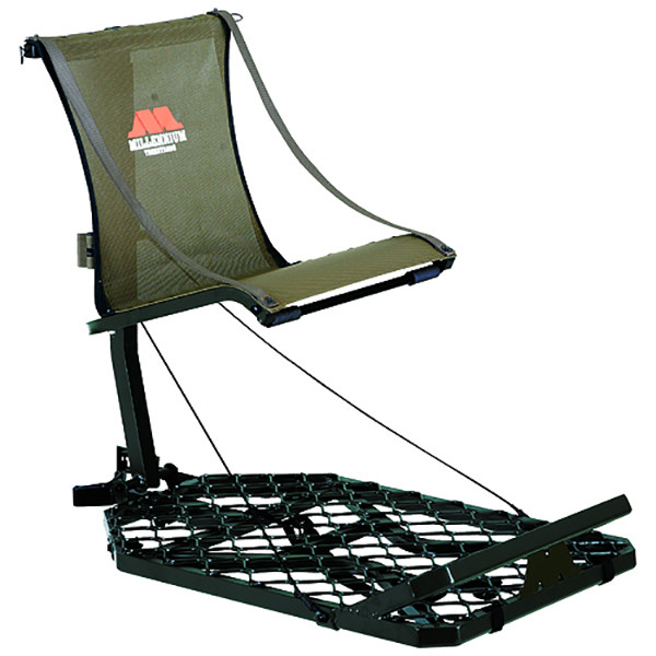 Millennium Leveling Adjustable Hang-On Tree Stand w/Safe-Link