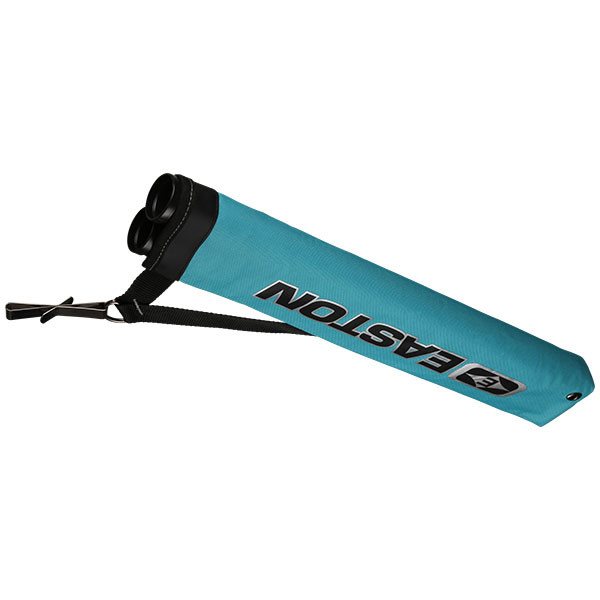 Easton Flipside 2-Tube Hip Quiver, Fits RH and LH Teal