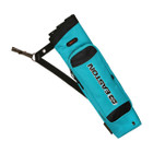 Easton Flipside 3-Tube Hip Quiver, Fits RH and LH Teal