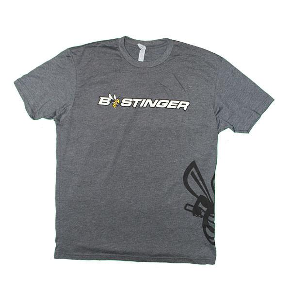 Bee Stinger Tee Shirt Grey - Small
