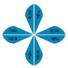 Bohning Blazer Vanes 2in. Satin Blue 36 Pack