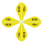 Bohning Blazer Vanes 2in. Neon Yellow 50 Pack