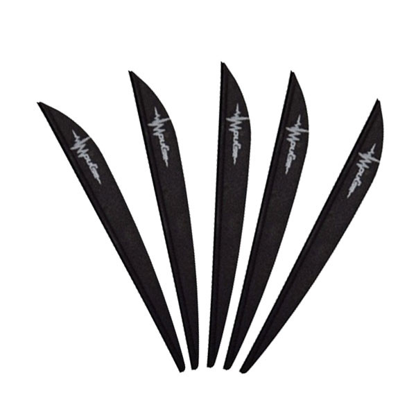 Bohning 3in Impulse Vane Black 100 Pack