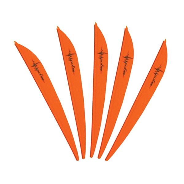 Bohning 3in Impulse Vane Neon Orange 12 Pack