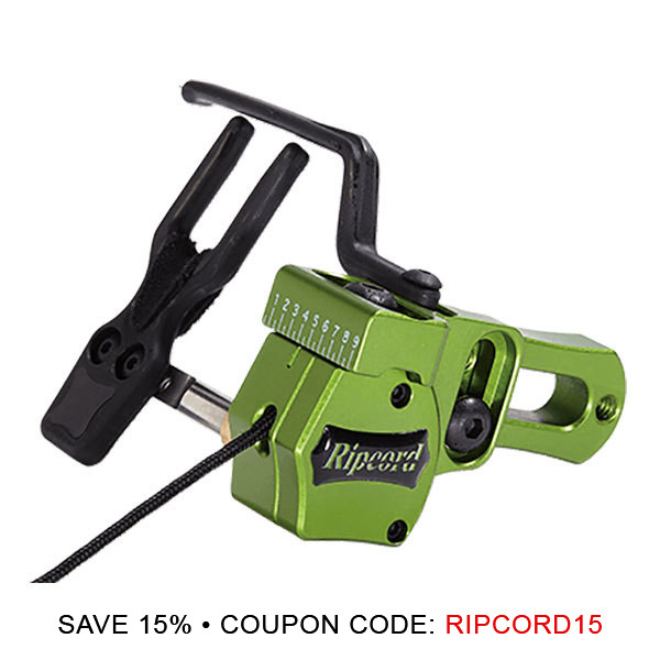 RipCord Code Red Arrow Rest - RH Green