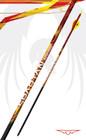 "Black Eagle Spartan Fletched Arrows - .001"" 6 Pack - 250"