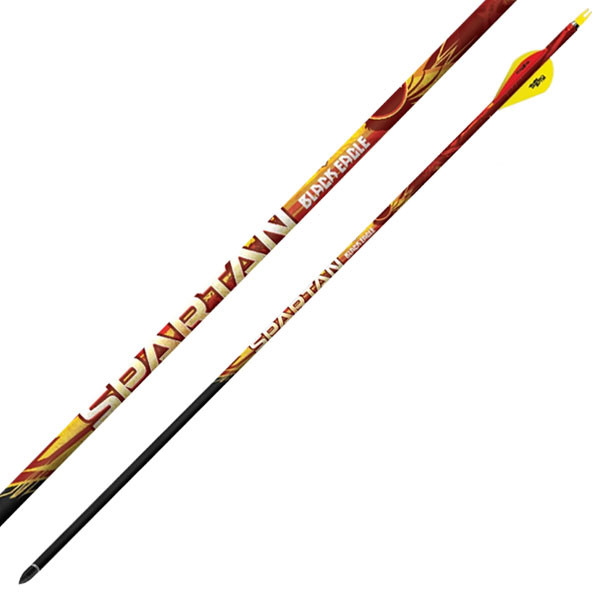 Black Eagle Spartan Fletched Arrows 003 Quot 6 Pack 300