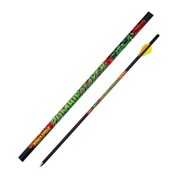 "Black Eagle Zombie Slayer Crossbow Fletched Arrows - .003"" Half Dozen - 20"""