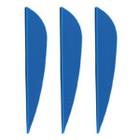 AAE Plastifletch Max Vanes (Blue) - 12 Pack