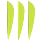 AAE Plastifletch Max Vanes (Yellow) - 12 Pack