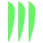 AAE Plastifletch Max Vanes (Bright Green) - 100 Pack