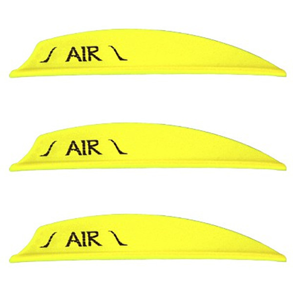 "Bohning (Neon Yellow) 2"" Air Vanes - 12 Pack"