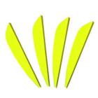 AAE Elite Plastifletch Vanes (26) - Yellow - 12 Pack