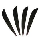 AAE Elite Plastifletch Vanes (26) - Black - 100 Pack