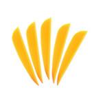 AAE Elite Plastifletch Vanes (16) - Sunset Gold - 100 Pack