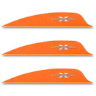 VaneTec 2.25 Swift Vanes - 50 Pack (Flo Orange)