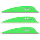 VaneTec 2.25 Swift Vanes - 50 Pack (Flo Green)