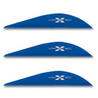 VaneTec 2.3 Super Spine Vanes - 50 Pack (Blue)