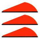 Q2i Archery Rapt-X Vanes - 50 Pack (Neon Orange)