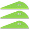 VaneTec HP 2 Vanes - 36 Pack (Flo Green)