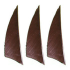 "Muddy Buck Gear 2"" RW Shield Feathers - 50 Pack (Brown)"