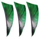 "Muddy Buck Gear 2"" RW Shield Cut Feathers - 50 Pack (Camo Green)"