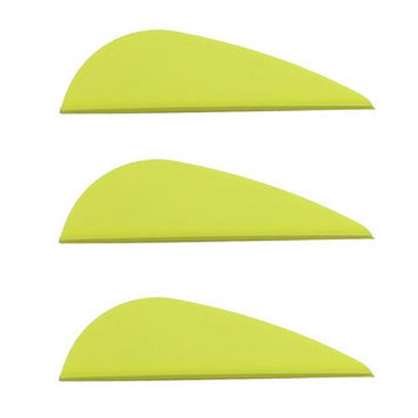 "Norway 2"" Predator Vanes - 50 Pack (Flo Yellow)"